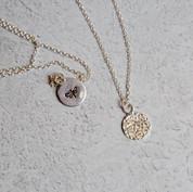 46. Honey Bee Necklace
