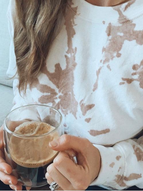 Sand Tie Dye Sweatshirt