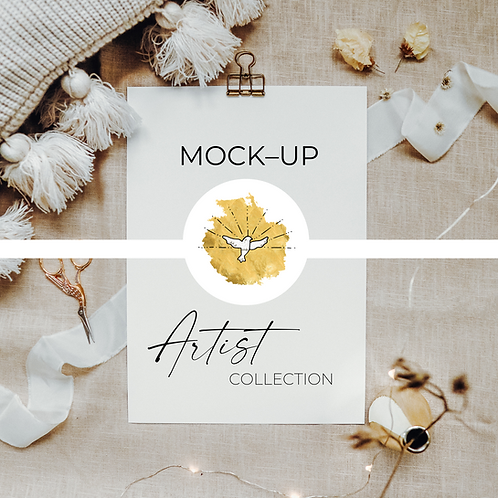 MOCK UPS – ARTIST COLLECTION