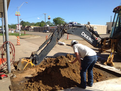 Gas Station Soil Cleanup with PID