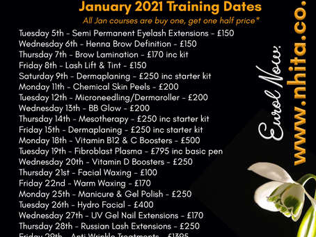 January Course Dates