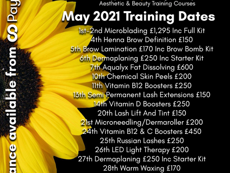 May is on it's way!