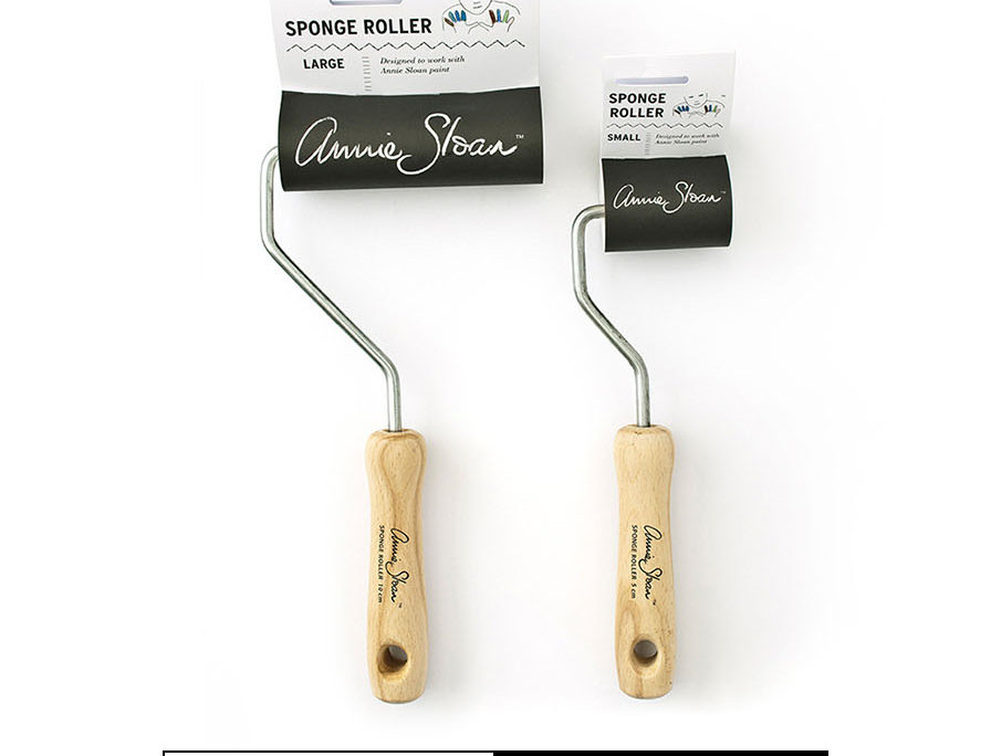 Валики с держателем Annie Sloan Sponge Rollers