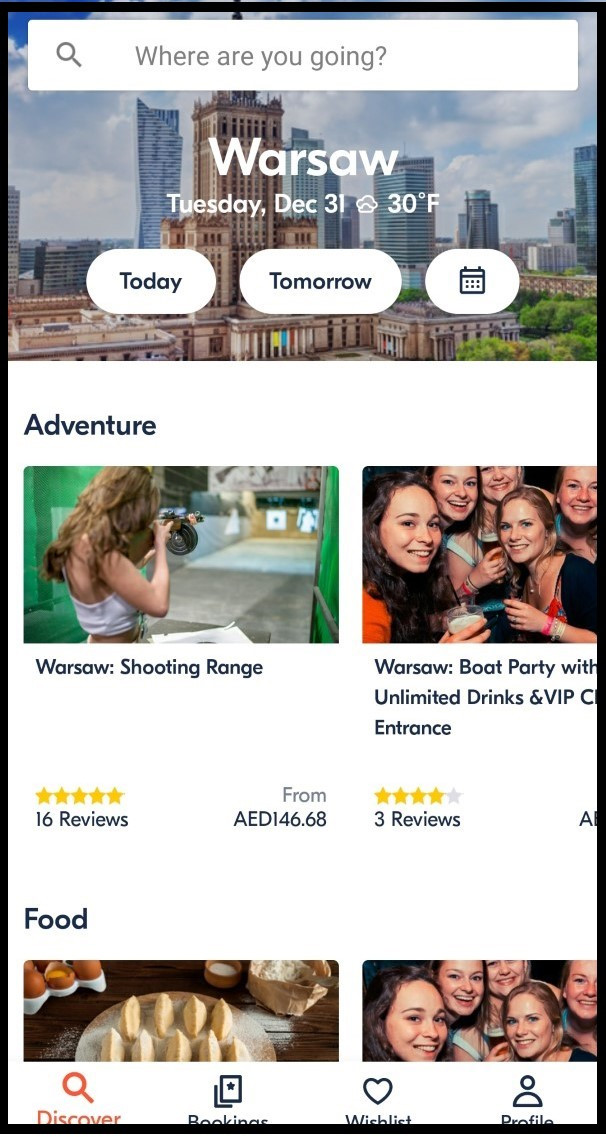 GetYoutGuide App Homepage
