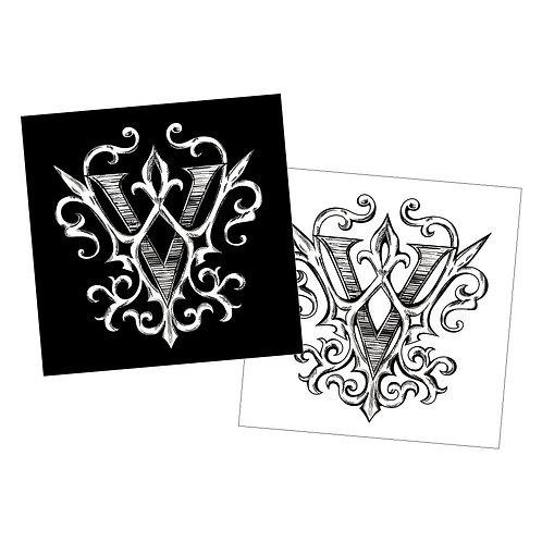 Versailles New Logo Sticker (2 sheets)