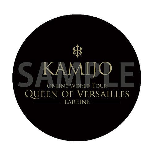 Mirror Badge KAMIJO Online World Tour [Queen of Versailles-LAREINE-] typeB