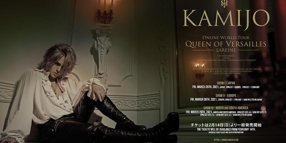 Online World Tour QUEEN OF VERSAILLES -LAREINE- Show II-Europe