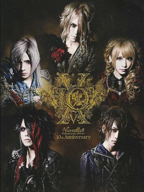 Versailles 10th Anniversary Tour Japan Pamphlet