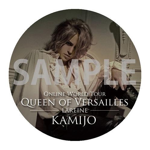 Mirror Badge KAMIJO Online World Tour [Queen of Versailles-LAREINE-] type A