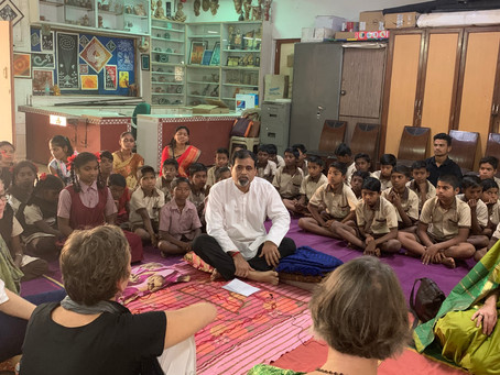 Learning Space Foundation ~ Spending time with students