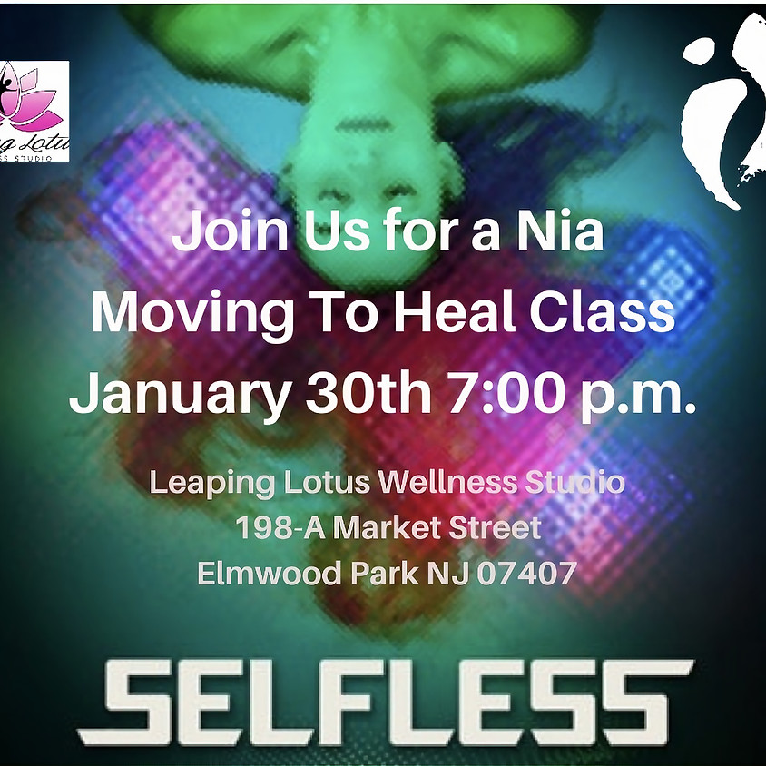 Nia Class ~ Movement to restore and heal
