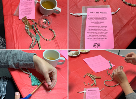 Make Your Own Mala Beads ~ Such a fun afternoon!