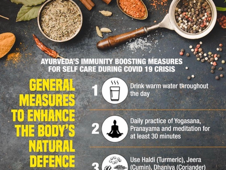 Ayurvedic tips to help build the immune system