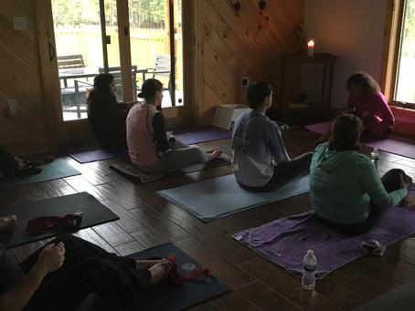 Wellness Retreat Weekend ~ Family spending the weekend together nurturing themselves!