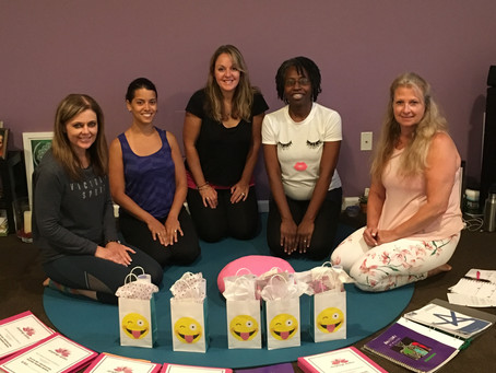 Pilates Mat Certification Program -Congratulations to these awesome ladies for completing their cert