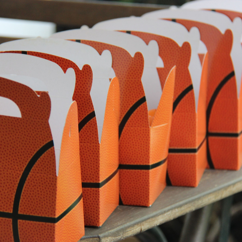 Basketball party boxes