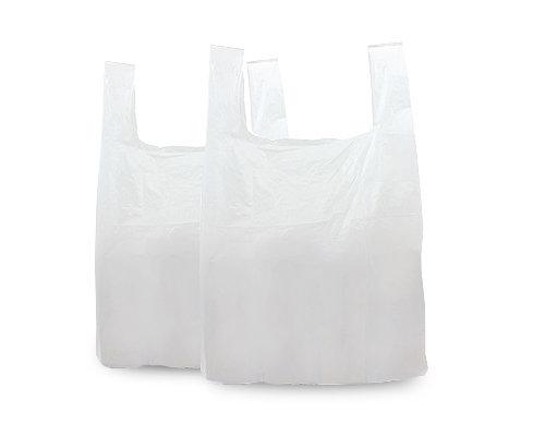 White Plastic Bag 11x17x21