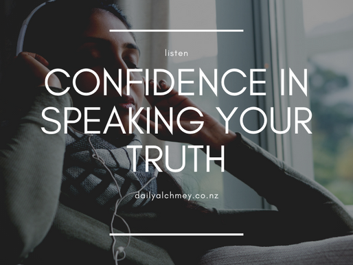 A Guided Visualisation to Help You Find Confidence in Speaking Your Truth