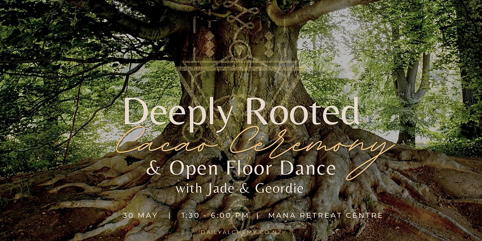 Deeply Rooted: Cacao Ceremony, Fire Circle & Open Floor Dance