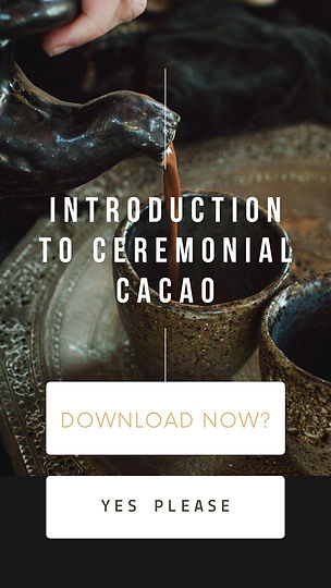 Introduction to Ceremonial Cacao Guide w