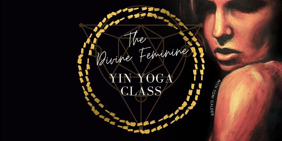 The Divine Feminine Yin Yoga Class