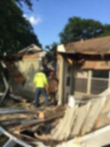 Storm Debris and storm damage clean up.j