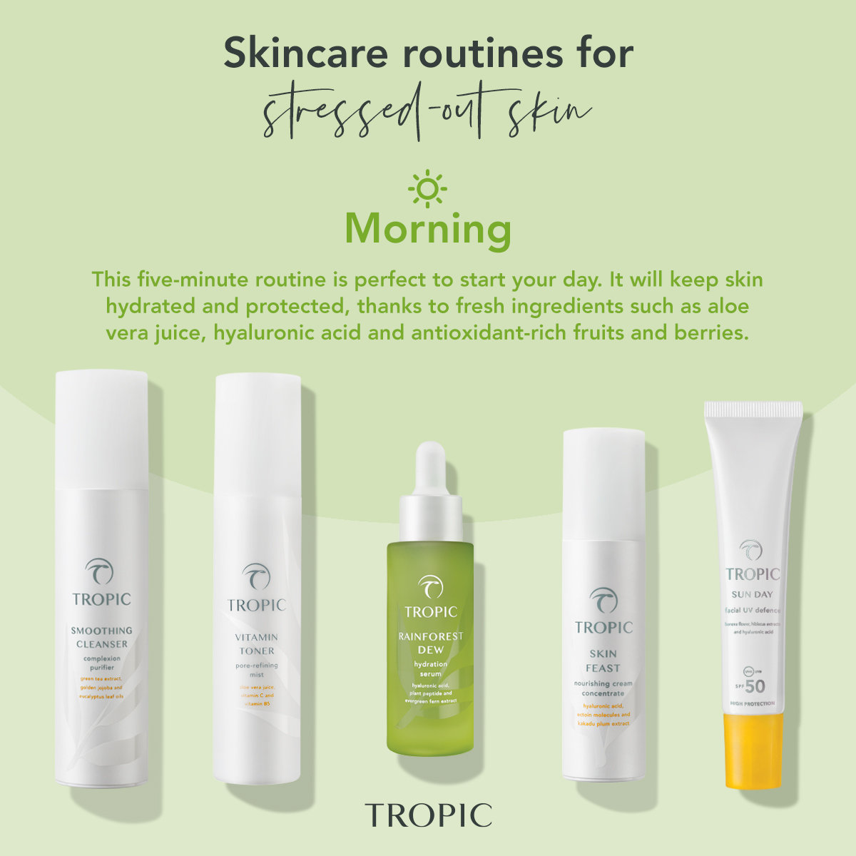1-on-1 Skincare Constulation with Tropic