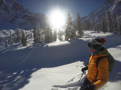 das Glück eines jeden Skitourengehers