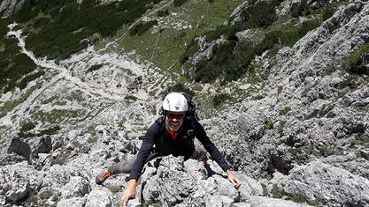 Klettern in Cortina