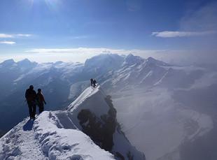 Matterhorn, Gipfelgrat
