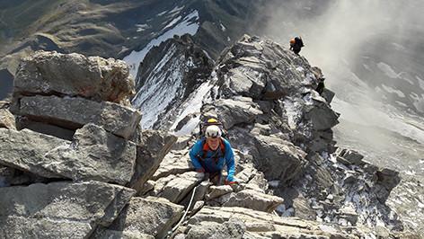 Grat am Matterhorn