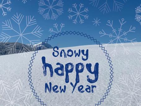 Happy happy ... snowy snowy ... new year!
