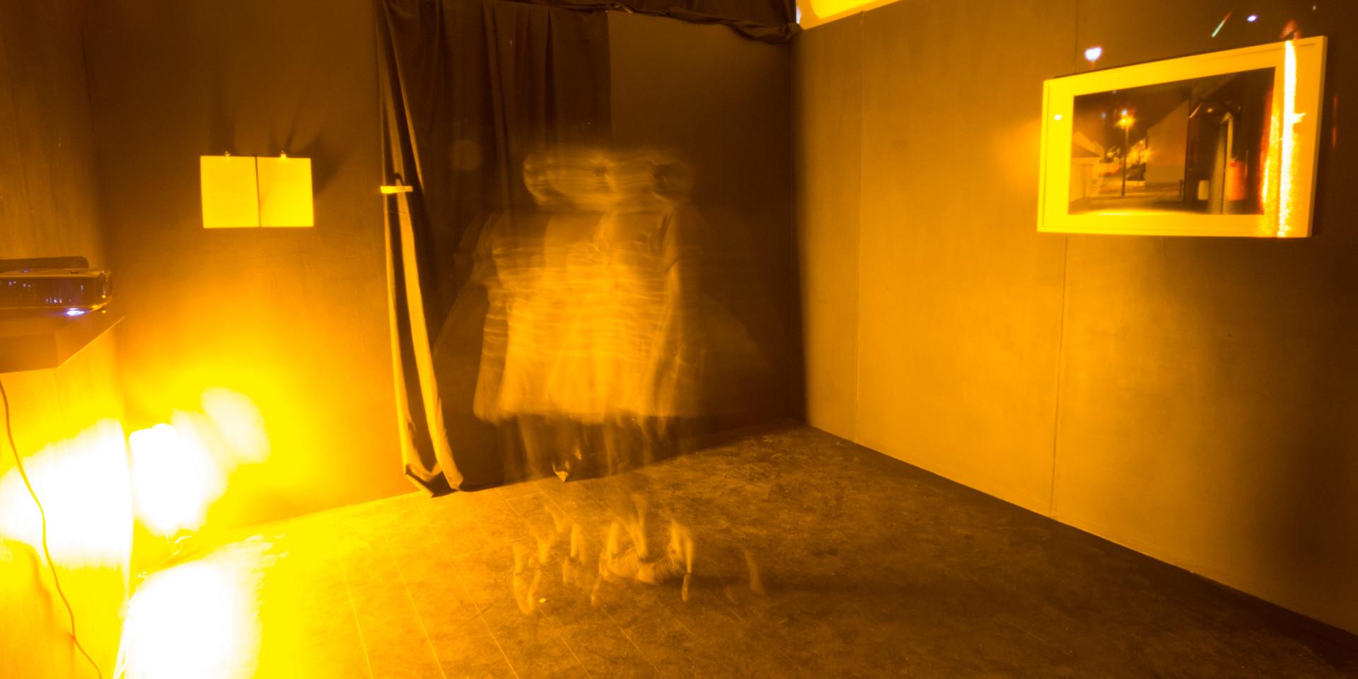 calibrating the darkness (glasgow school of art graduate show 2016)