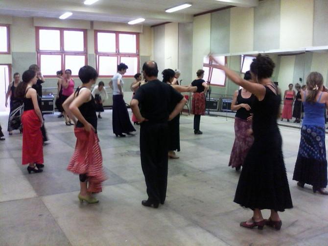 Le Festival Flamenco de Mont de Marsan côté stages