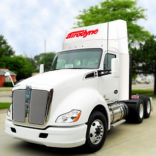 Kenworth T680 T880 P2-C Collapsible roof air fairing wind deflector
