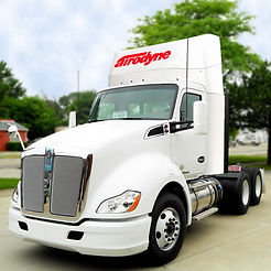 Kenworth T680 T880 P2-Cs Collapsible Low Profile roof air fairing wind deflector