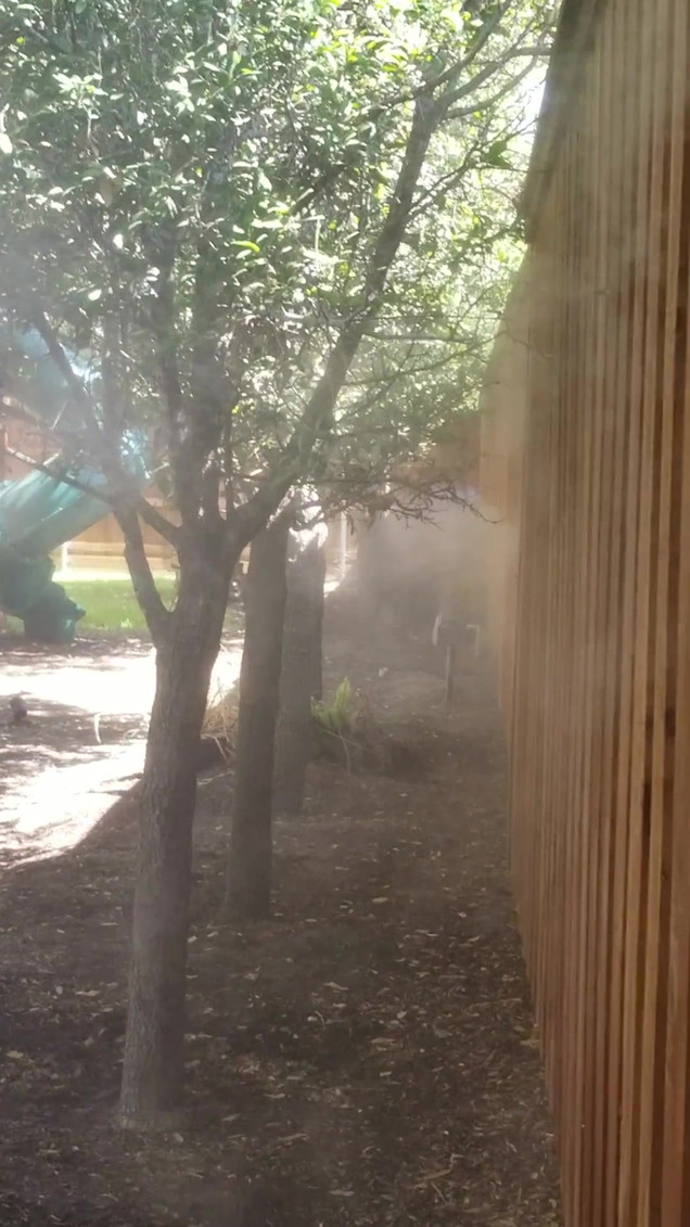 Non-toxic misting