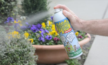Picture of Mosquio Fog spray in use
