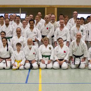 Groß-Umstädter Karatekas zum Training in Wien