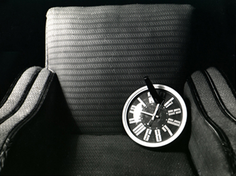 Clock in Chair