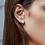 Thumbnail: Akoya Saltwater Pearl Stud Earrings 7.5-8mm