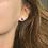 Thumbnail: Cornflower Blue Sapphire Stud Earrings 6.5mm (2.60ctw)