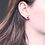 Thumbnail: Amethyst Sterling Silver Stud Earrings 6mm