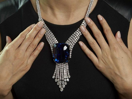 'Blue Giant of the Orient,' the World's Largest Faceted Blue Sapphire, Is Shrouded in Mystery