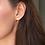 Thumbnail: Moissanite Forever One® Martini Stud Earrings 5mm (1ctw)
