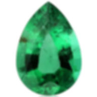 Natural-untreated-emerald-pear-shape