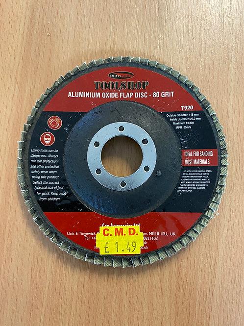 FLAP DISC 115MM GRINDER