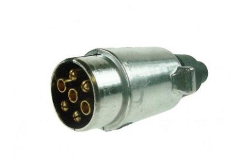 MP24 12N 7 PIN ALUMINIUM PLUG