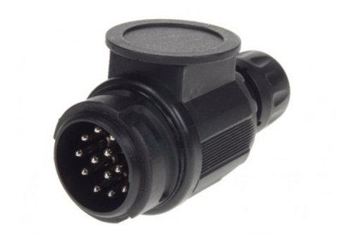 MP128 12V 13 PIN PLASTIC PLUG