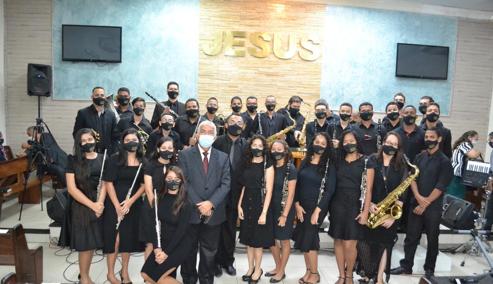 110 Anos da Assembléia de Deus e culto em ações de graça da Banda Novo Cântico